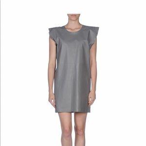 NWT Maison Martin Margiela MM6 Lamb Leather Dress